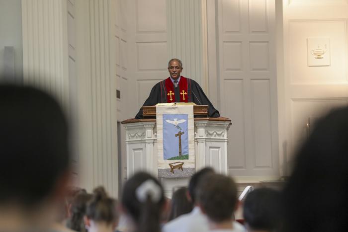 Rev. Dr. Brian Blount Preaching